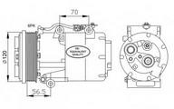 Compresor, climatizare NRF 32250