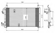 Condensator, climatizare NRF 35197