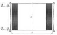 Condensator, climatizare NRF 35490