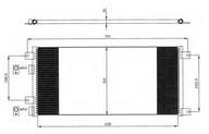 Condensator, climatizare NRF 35643
