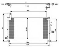 Condensator, climatizare NRF 35765