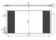 Condensator, climatizare NRF 35940