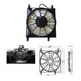 Ventilator, radiator NRF 47257