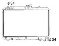 Radiator, racire motor NRF 53351