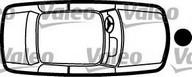 Inchizator capota motor VALEO 256396