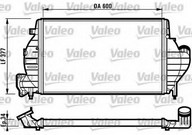 Intercooler, compresor VALEO 816836