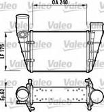 Intercooler, compresor VALEO 817625