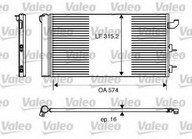 Condensator, climatizare VALEO 818162