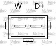 Generator/alternator VALEO 436482