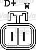 Generator/alternator VALEO 437497