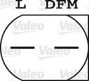 Generator/alternator VALEO 437444