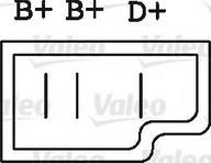 Generator/alternator VALEO 437576