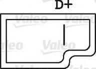Generator/alternator VALEO 436295