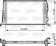 Radiator, racire motor VALEO 735279