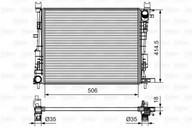 Radiator, racire motor VALEO 735634