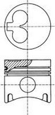 Piston NUERAL 87-109800-10