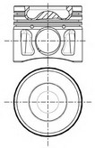 Piston NUERAL 87-427707-10