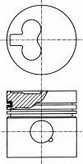 Piston NUERAL 87-990107-10