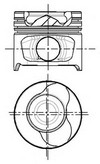 Piston NUERAL 87-123400-20
