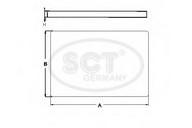 Filtru, aer habitaclu SCT Germany SA 1101