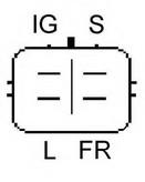 Generator/alternator ELSTOCK 28-4562