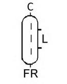 Generator/alternator ELSTOCK 28-6787