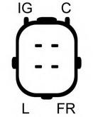 Generator/alternator ELSTOCK 28-5959