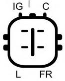 Generator/alternator ELSTOCK 28-4888