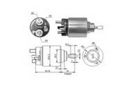 Solenoid, electromotor ERA 227031