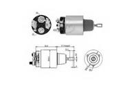 Solenoid, electromotor ERA 227164