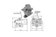 Solenoid, electromotor ERA 227207