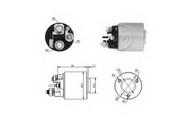 Solenoid, electromotor ERA 227231