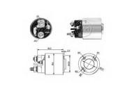 Solenoid, electromotor ERA 227233
