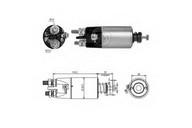 Solenoid, electromotor ERA 227276