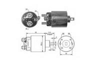 Solenoid, electromotor ERA 227299