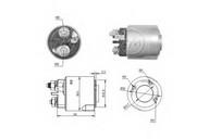 Solenoid, electromotor ERA 227318