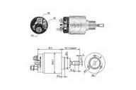 Solenoid, electromotor ERA 227352