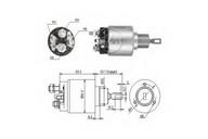 Solenoid, electromotor ERA 227357