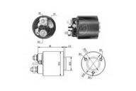 Solenoid, electromotor ERA 227380