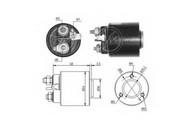 Solenoid, electromotor ERA 227384
