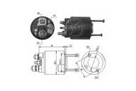 Solenoid, electromotor ERA 227388