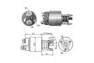 Solenoid, electromotor ERA 227439