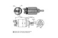 Solenoid, electromotor ERA 227447