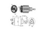 Solenoid, electromotor ERA 227490