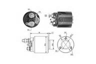 Solenoid, electromotor ERA 227511