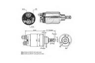 Solenoid, electromotor ERA 227573
