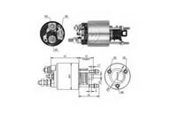 Solenoid, electromotor ERA 227742