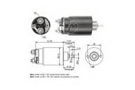 Solenoid, electromotor ERA 227745