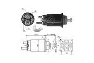 Solenoid, electromotor ERA 227809
