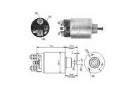 Solenoid, electromotor ERA 227819